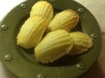 My first attempt at Madeleines