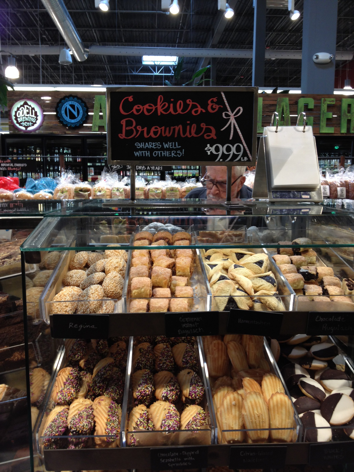 Whole foods cookies and brownies by the pound my sweet for Food bar whole foods