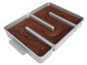 Brownie corner pan